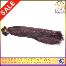 100% человеческих волос 24 дюймовый шелковистые волосы прямо Персидский ткачество