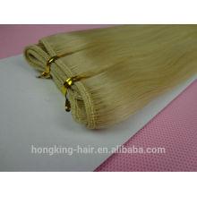 Extensões de cabelo por atacado do cabelo brasileiro virgem não processado amostra grátis frete grátis