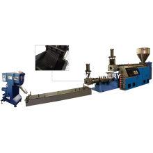 Machine de pelletisation en plastique de déchets de Double étapes