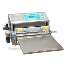 Automática máquina de embalagem de vácuo plástico de mesa para alimentos marinhos LZQ-600E