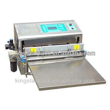 Автоматическая настольная пластиковая вакуумная упаковочная машина для морепродуктов LZQ-600E
