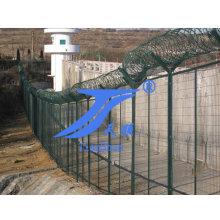 Горячая заборная решетка из проволочной сетки с колючей проволокой (TS-E71)