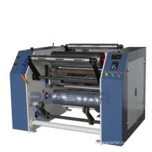 Cortando e rebobinando manual da máquina esticar filme rebobinador de máquinas lldpe preço rebobinador na china