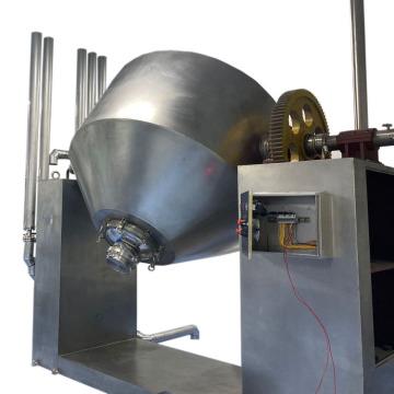 Низкотемпературная двойная коническая роторная вакуумная сушилка