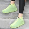 Silicone Shoe Covers Rain Reusable Hands Free Rain
