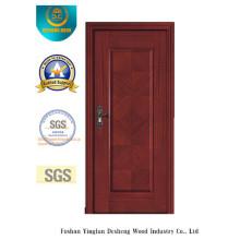 Porta moderna da MDF da prova da água do estilo com grão de madeira de emenda para o quarto (xcl-007)