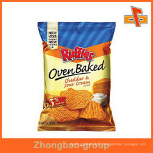 Guangzhou manufacturer wholssale gravure printing custom printed potato chips packaging bag