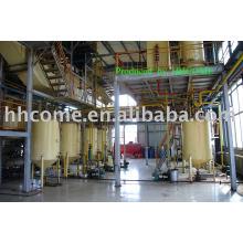 Conjunto de equipamentos para a defenolização de proteína de semente de algodão