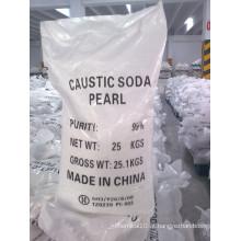 Soda Cáustica Pérolas (99%) com SGS Relatório de Teste
