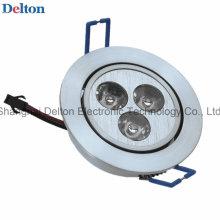 Lâmpada flexível do teto do diodo emissor de luz 3W (DT-TH-3F)
