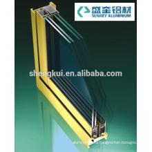 Powder Coating K78 Sliding Windows Aluminum Profiles Aluminum Extrusions