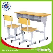 Ensemble de table et de chaise d'étude pour enfants LE-ZY001 Assurance de la qualité