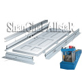 High efficiency low cost sheet metal machinery/steel door and window designs/door frame roll forming machine