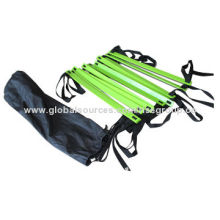 Agility Ladder, Made of Plastic, Includes Ground Nail with Carrying Bag