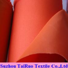 100% poliéster Oxford con PVC cubierto para la tela de la ropa