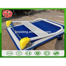 Großhandelshoher Qualitätsfaltplattform-Hand-LKW, Handlaufkatze 300kg 150kg