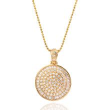 Pendentif en bijoux de luxe Xuping incrusté avec CZ synthétique