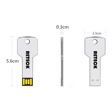 Metal Usb Stick Stock Usb Flashdrive Key