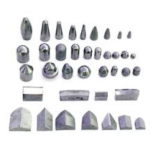 Diferentes tipos de pontas de mineração de carboneto de tungstênio em branco