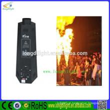 Novo efeito de estágio Flame Projector 200W fogo máquina com DMX Control & Circuilt controle