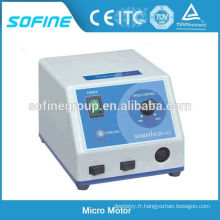 Équipement de laboratoire Micro-moteur dentaire