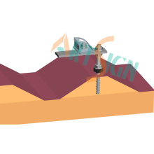 Solar Panel Dachhalterung, Zinn Dachhaken
