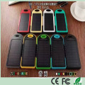 Günstigstes Großhandel 5000mAh Dual USB Solar Power Bank Ladegerät für Handy iPad (SC-1688)