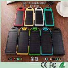 El cargador de banco dual de la energía solar del USB 5000mAh al por mayor más barato para el iPad del teléfono móvil (SC-1688)