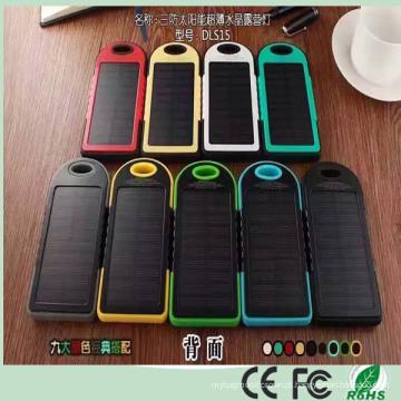 Mais barato Atacado 5000mAh Dual USB Carregador de Banco de Energia Solar para o Telefone Móvel iPad (SC-1688)