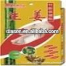 Parche de desintoxicación de vinagre de bambú con jengibre