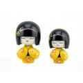 FQ marque populaire petit enfant fait main belle bébé poupée japonaise en bois