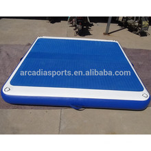 Wholesale Inflatable EVA Water Platform Floating Pontoon Mats