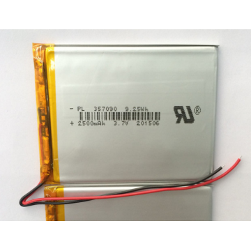 3.7v 2500mAh Lipo Battery per Tablet (LP7X9T3)