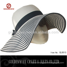 2015 promotional fashion straw beach hats for women