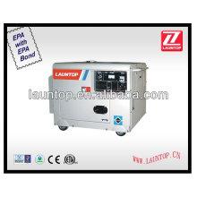 5 кВт дизельный генератор 50 Гц 3000 об / мин 4-тактный, с воздушным охлаждением, с одним цилиндром