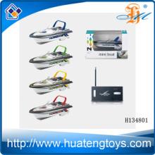 2.4G 4CH de alta velocidade de controle remoto barco de pesca RC Mini barco de controle remoto H134801