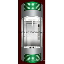 Profesión y cómodo elevador panorámico (JQ-A035 (D))