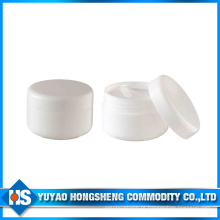 Hy-Pj-002A Fornecedor China Cosmetic White Plastic Jar