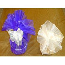 Círculos de Organza redondos para saco de embalagem