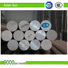 Barra redonda de aluminio aleación 6063