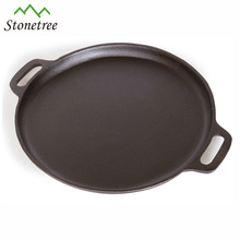 Pre-seasoned Pizza Pan Cast Iorn Round Pizza Pan