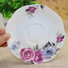Kundengebundene keramische geteilte Teller der Größe