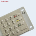 Waterproof IK08 Encrypting Pin Pad For Fuel Dispenser