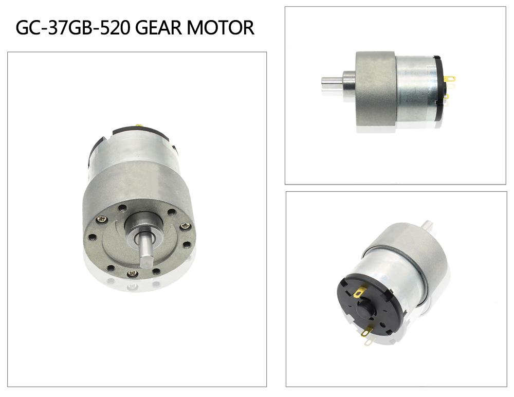 37mm gear motor