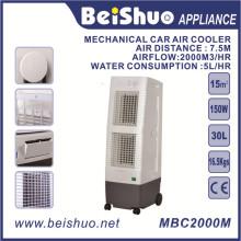 Ventilador de refrigeração da maquinaria Refrigerador de ar da indústria do condicionador de ar para o tanque de água 30L