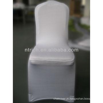 elastano lycra cadeira tampa, tampa da cadeira Lycra/Spandex com faixa para o casamento e o banquete de estiramento