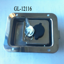 SS Truck Toolbox Right Hand Latch Locks