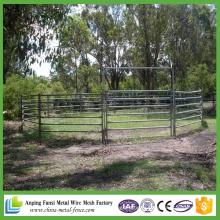 Panneaux de clôture de bois d'élevage / bétail bon marché de haute qualité