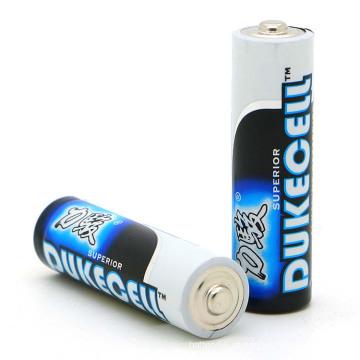 Bateria alcalina AA Lr6 1.5V para roteador sem fio