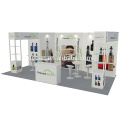Detian Offer 10x20ft trade fair booth stand with free design